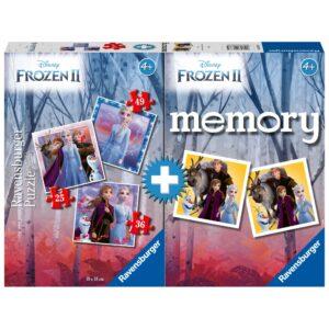 Ravensburger Memory+pusle Frozen II 1/2