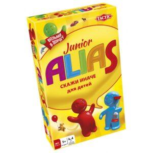 """Tactic Настольная игра """"Junior Alias - Скажи иначе"""" для малышей, компактная версия 1/1"""